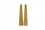 "Bracelet Bangle Mandrels, Wooden, Set of 2, 15"", 1 x Hexagonal and 1 x Square. J2043"
